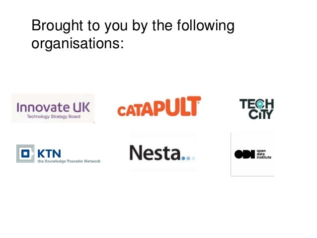 Brought to you by the following organisations: