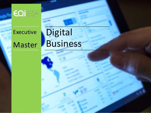 Digital Business Executive Master