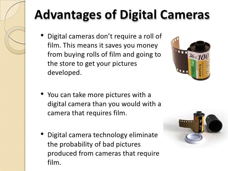 Digital Photography Advantages