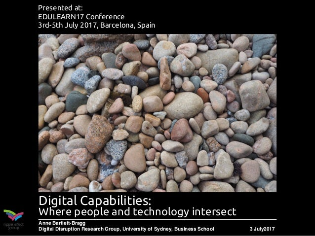 ripple effect group Digital Capabilities: 