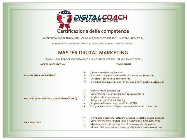MASTER DIGITAL MARKETING Slide 2