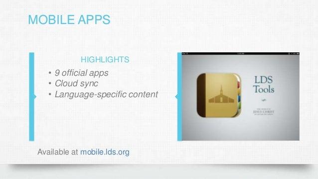 Digital Church Lesson 1 - LDS org Digital Resources