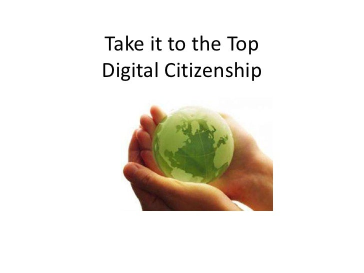 Take it to the TopDigital Citizenship
