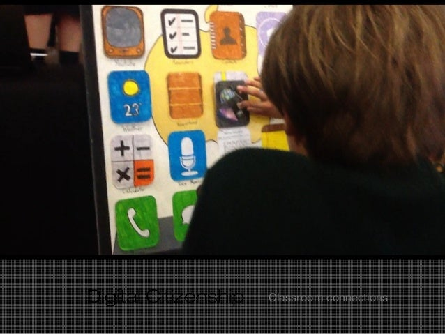 Digital Citizenship Classroom connections