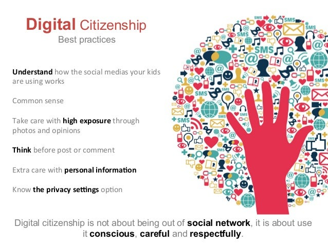 Digital citizenship kids and teenagers