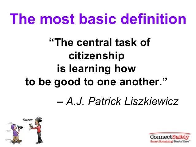 Digital citizenship basics Slide 3