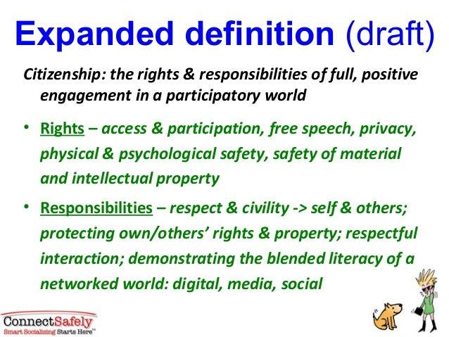 Digital citizenship basics