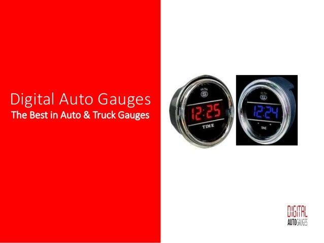 Digital Clock Gauge for Trucks and Cars | auto clock | car