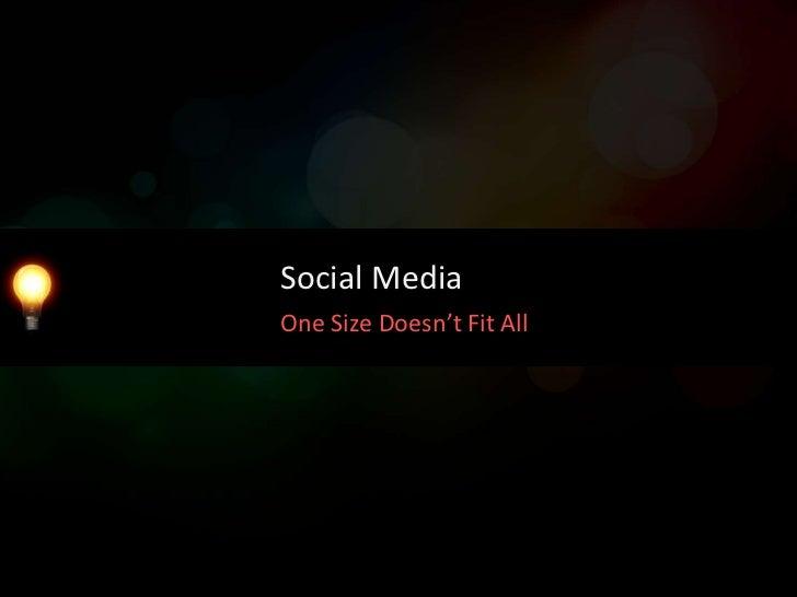 Social MediaThe Follower Fallacy