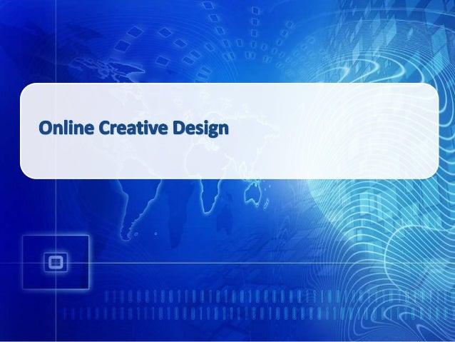 digital creative presentation