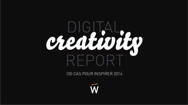 100 CAS POUR INSPIRER 2014 DIGITAL REPORT