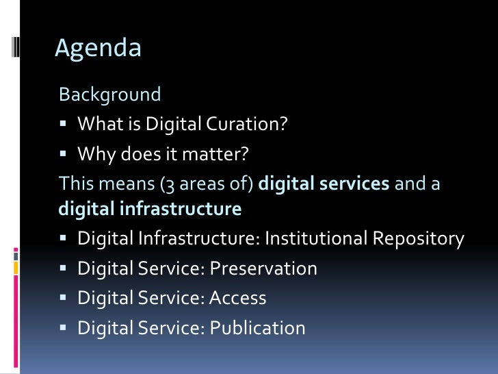 Digital Curation Intro Slide 2