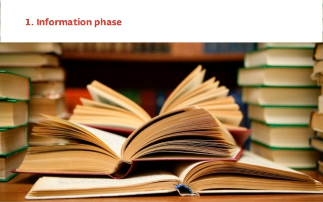 1. Information phase