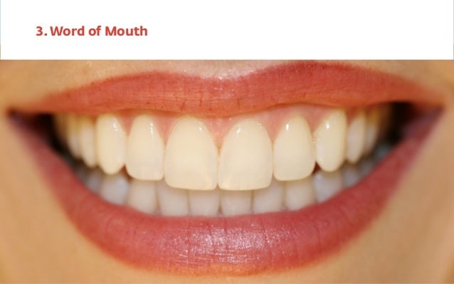 3. Word of Mouth