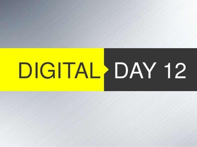 DIGITAL DAY 12