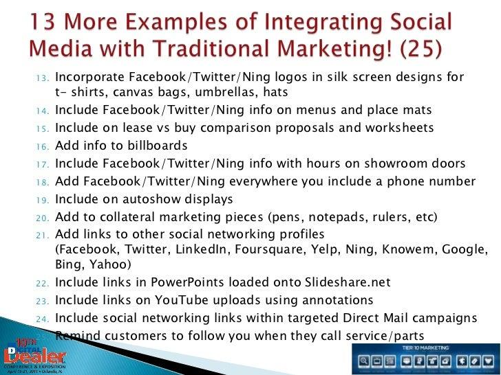 Digital Dealer 10 Integrated Social Media Marketing