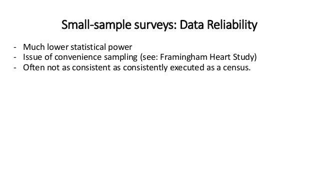 Framingham heart study sampling