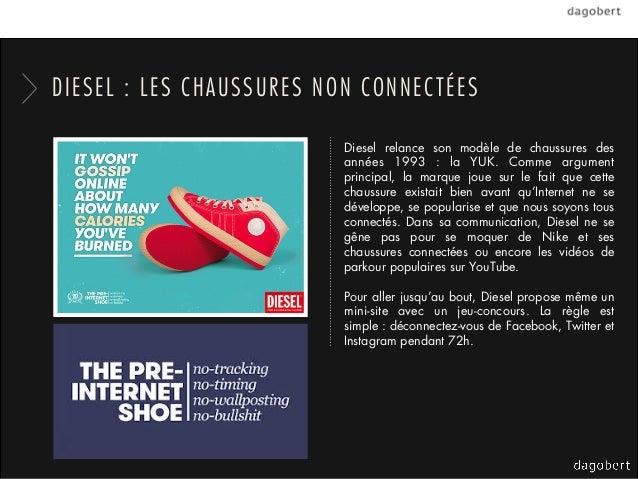 DIESEL : LES CHAUSSURES NON CONNECTÉES                          Diesel relance son modèle de chaussures des               ...