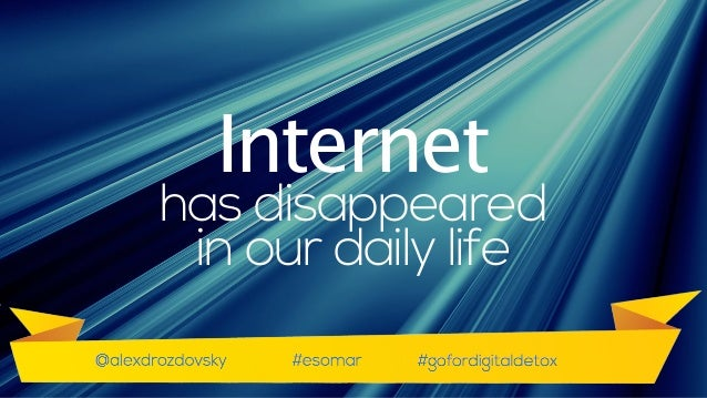 Really fast internet has dissolved in our daily life. Glad to see some friends from India here. 'Coz this reminds me the w...