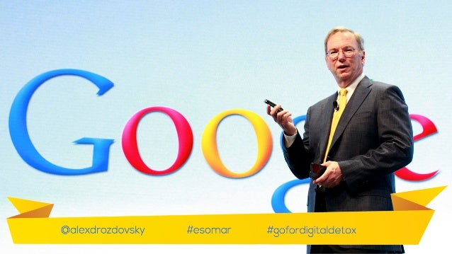 Take Google's chairman, Eric Schmidt, who has warned that we need to define times when we are 'on' and 'off' and announced...