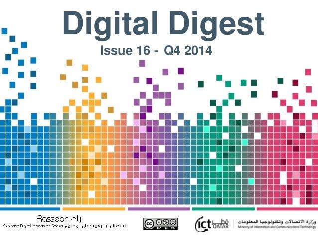 Digital Digest Issue 16 - Q4 2014