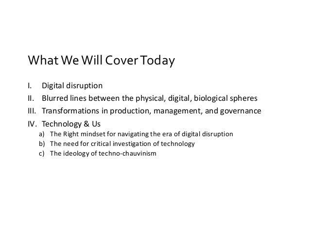 Moving Forward with Digital Disruption: A Right Mindset Slide 2