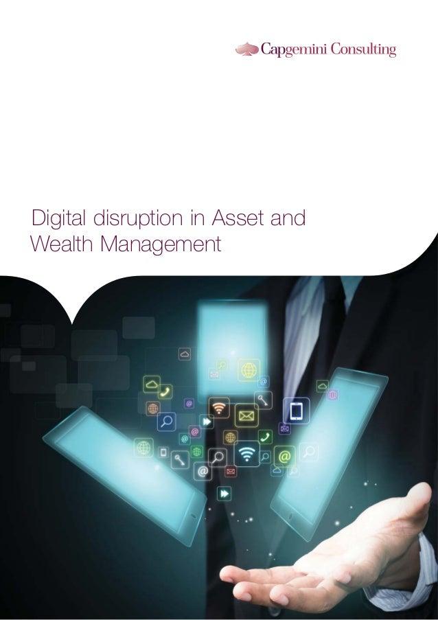 Digital disruption in Asset and Wealth Management