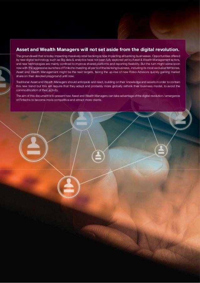 Digital Disruption in Asset and Wealth Management Slide 2