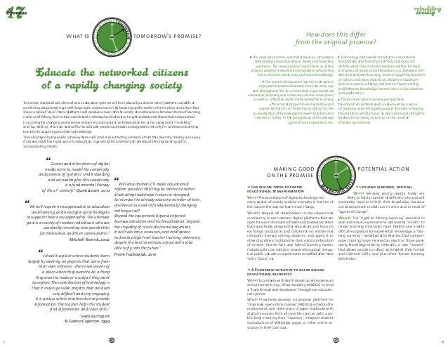 "Digital Disruptions 2013 / 2014 : ""Digital promises"""