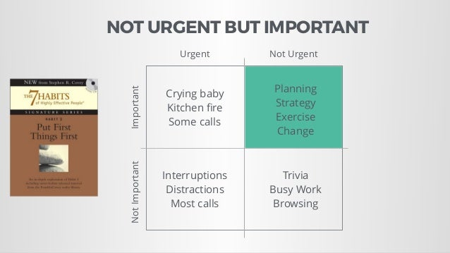 Crying baby Kitchen fire Some calls Interruptions Distractions Most calls Trivia Busy Work Browsing Planning Strategy Exerc...