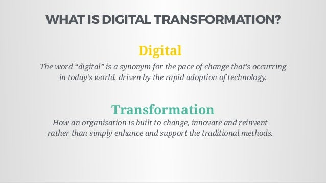 Strategy for the Thinking Leader (Digital Transformation