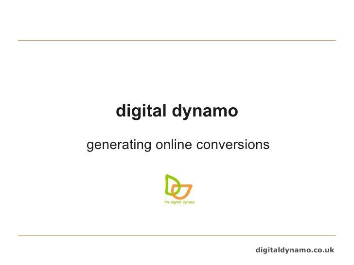 digital dynamo generating online conversions