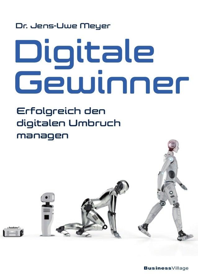 BusinessVillage Digitale Gewinner Dr. Jens-Uwe Meyer Erfolgreich den digitalen Umbruch managen