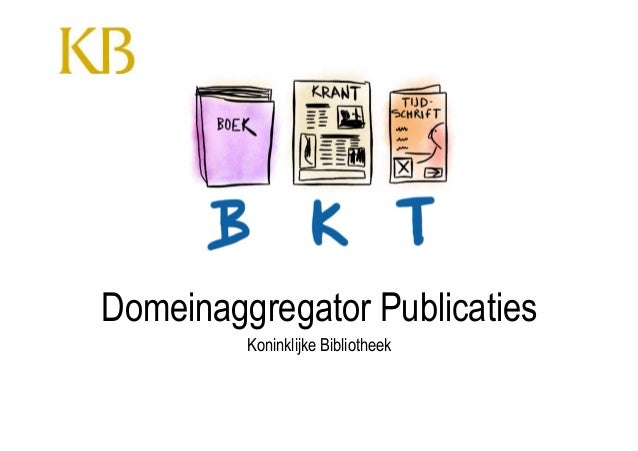 Koninklijke BibliotheekPublicaties