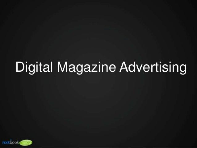 Digital Magazine Advertising