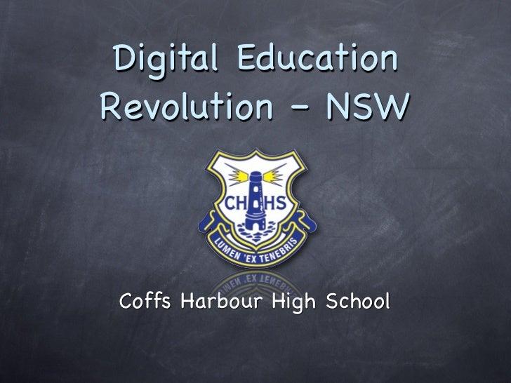 Digital EducationRevolution – NSW Coffs Harbour High School