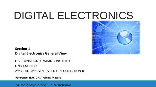Digital electronics 1 638gcb1427881409 digital electronics civil aviation training institute cns faculty 2nd year 3rd semester presentation 01 fandeluxe Gallery