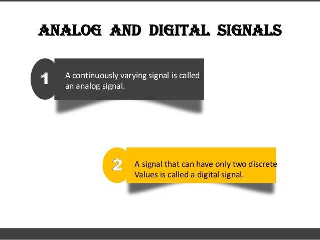 Digital electronics - Basics Slide 2