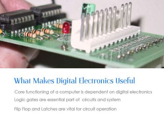 a complete digital electronics course via video tutorialadvanced video tutorial archive; 2 what makes digital electronics