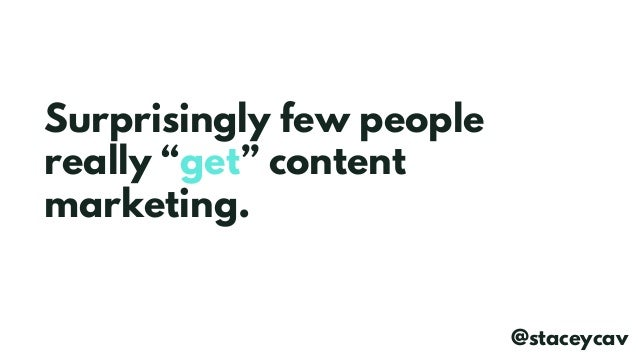 Nobody Pays the Bills in Social Shares - Content Marketing with Real Value by @staceycav Slide 2