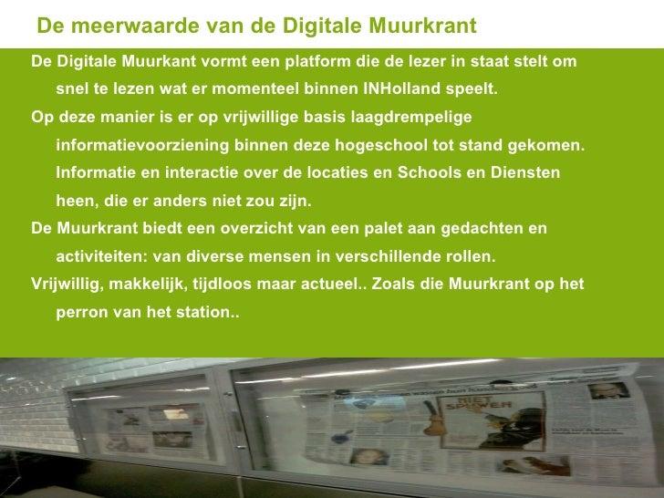 Ongekend Digitale Muurkrant + SharePoint Trefpunt MW-81