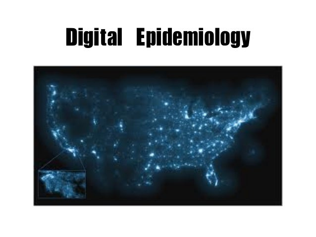 Digital	 Epidemiology