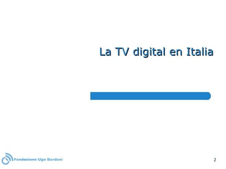 La TV digital en Italia