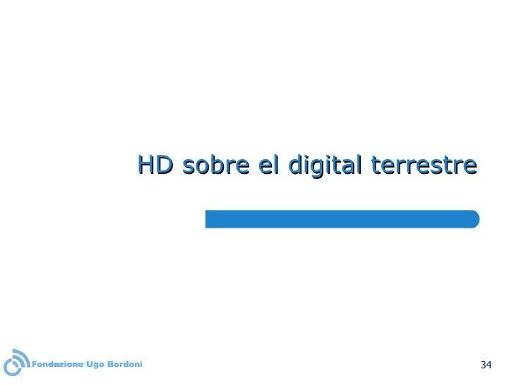 HD sobre el digital terrestre