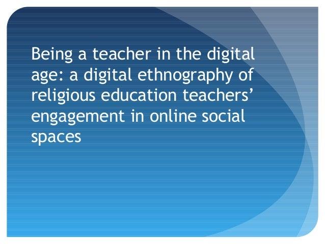 James Robson - Digital and Online Ethnography Slide 2