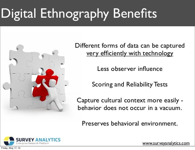 Image result for benefits digital ethnography