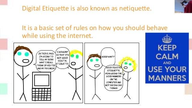 Digital Etiquette Slide 2