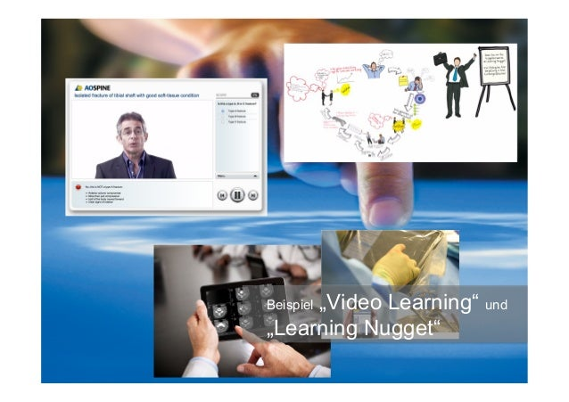 """Beispiel """"Video Learning"""" und """"Learning Nugget"""""""