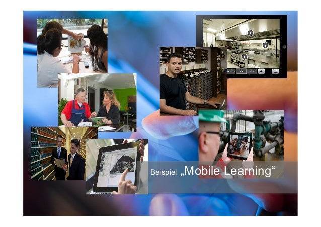 """Beispiel """"Mobile Learning"""""""