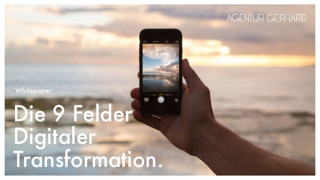 Die 9 Felder Digitaler Transformation. Whitepaper